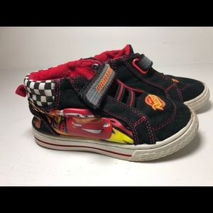 Cars Lightning McQueen Toddler Shoes Size 9